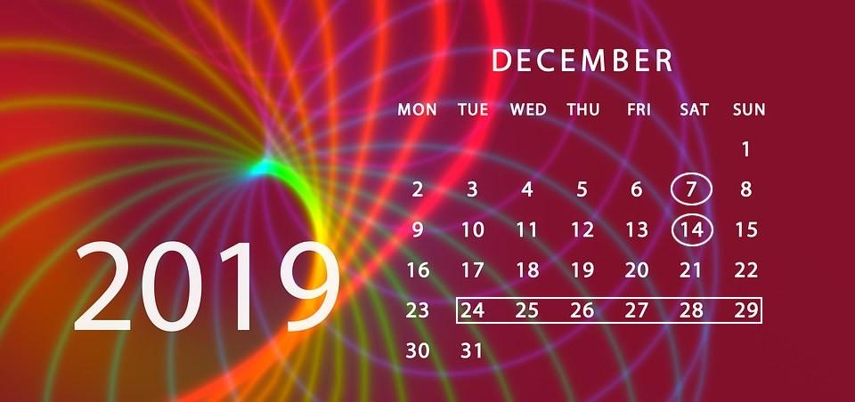 Munkanap-áthelyezések és szombati munkanapok decemberben
