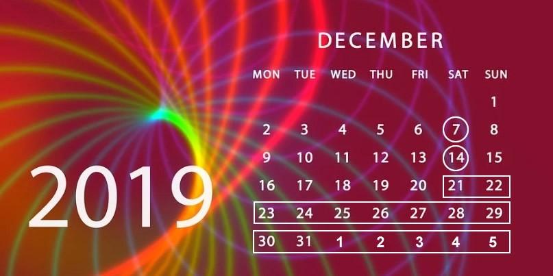 Így alakulnak a munkanapok és a tanítási napok decemberben
