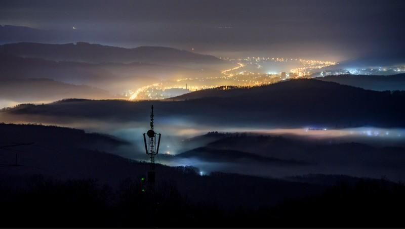 Időjárás - Hat megyére a tartós, sűrű köd miatt figyelmeztetést adtak ki péntekre