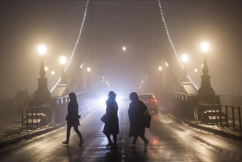 Figyelmeztetést adott ki az OMSZ - Nagy területen sűrű köd várható - Részletek