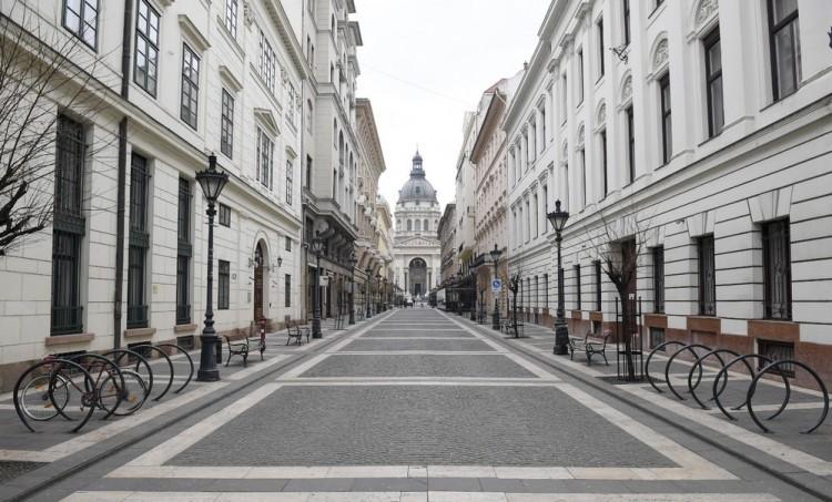 Képeken az üres Budapest - alon.hu