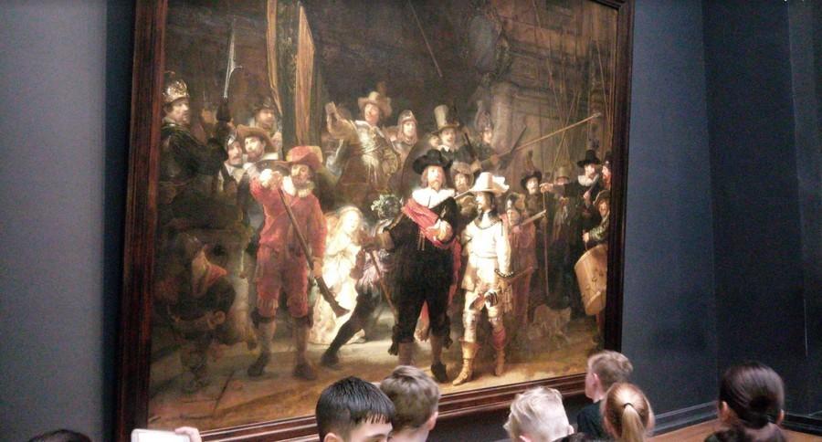 Csúszik Rembrandt Éjjeli őrjáratának a restaurációja - Online már megnézheti