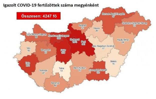 Nagyon biztató eddig a magyar koronavírus-helyzet