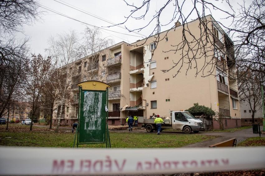 Gázrobbanás történt egy társasházban - Egy ember meghalt