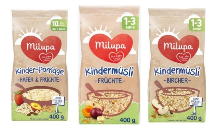 Gyerekeknek szánt Milupa müzlit és zabkását hívott vissza a Müller