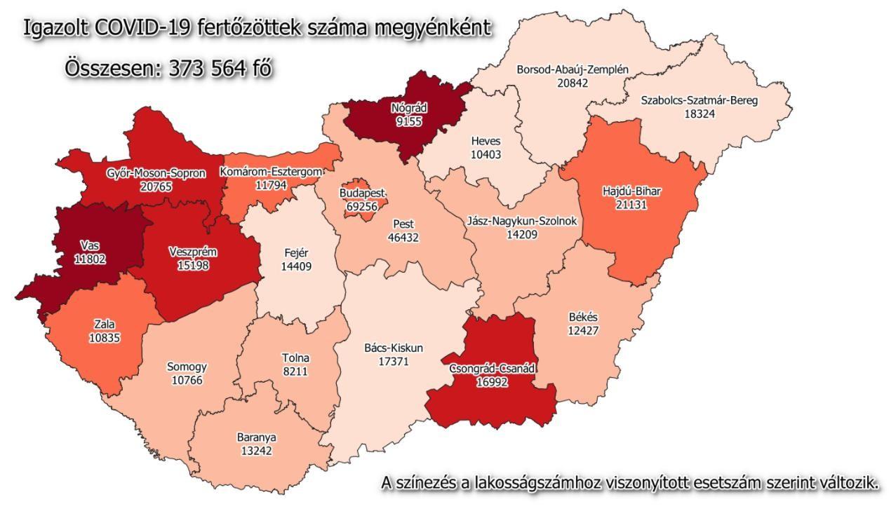 Járványadatok - Itt a megyei lista és az országos számok
