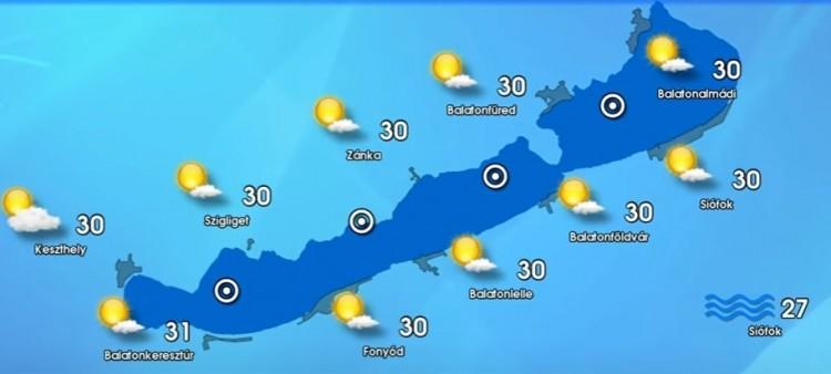 Időjárás-előrejelzés vasárnapra - Friss meteorológiai előrejelzés június 27-re vasárnapra