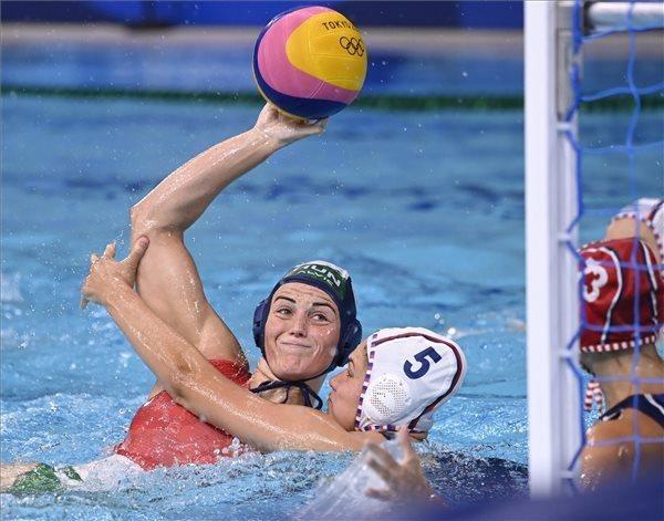 Olimpia - Döntetlennel indított a női vízilabda-válogatott