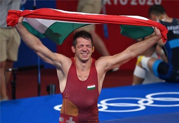 Lőrincz Tamás olimpiai bajnok birkózásban