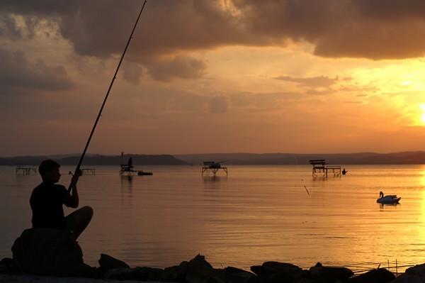 Nem emelkedtek a balatoni horgászjegy árak